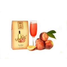 Peach Bellini Frozen Wine Drink Mix - Peach Bellini Frozen Wine Drink is a wine slush cocktail mix in a bag that turns wine or Champagne into a refreshing frosty drink. Harry's Bar in Venice claims credit for inventing the Bellini, an Italian classic. The Wine-a-Rita Peach Bellini can be blended with your favorite white white or for some bubbles try Prosecco or Champagne. All you need is ice, wine and a blender. Each mix makes approximately 72 oz or two blenders full!
