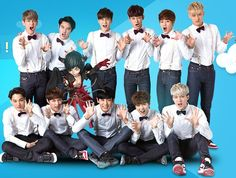 EXO. * I hate to admit that I keep counting how many of them in one picture*