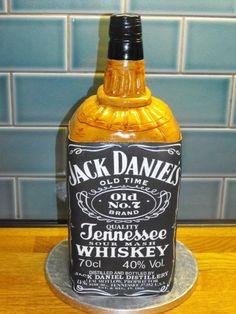 Jack Daniels  Cake by Nelly Konradi