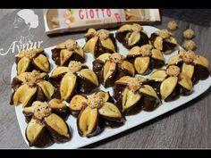 Knusprige Kekse in Fächer Form- Yelpaze kurabiye tarifi - YouTube