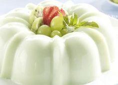 Manjar de Uvas con Crema, Recetas con Frutas, Recetas Fáciles de Cocina #recetas #recetasfaciles #recetasdecocina #recetasgratis