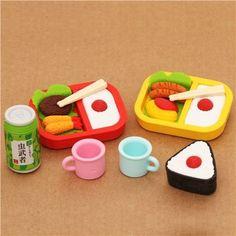 Picnic food Iwako erasers set 8 pieces from Japan by Iwako, http://www.amazon.co.uk/dp/B00DFX92I0/ref=cm_sw_r_pi_dp_M3gssb0ENCZ8K