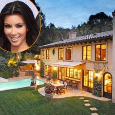 Inside Kim Kardashian And Kanye West S Mediterranean Style Mansion In Bel Air Beverly Hills
