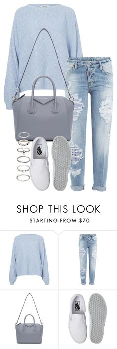 """Untitled #1469"" by tyra482 ❤ liked on Polyvore featuring Rodebjer, Dsquared2, Givenchy, Vans and Forever 21"