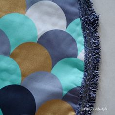 Padded baby play mat tutorial