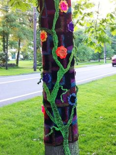 International Yarn Bombing Day: Twisted stitchers unite | Expect the Unexpected