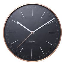 World Class 27.5cm Minimal Wall Clock