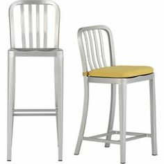 "Delta 24"" Aluminum Counter Stool in Barstools 