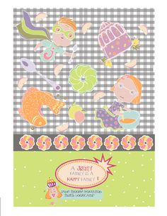 Jello themed pattern design MATS bootcamp Jane Moore Hougton