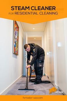 Steam cleaning works viatiny vapor molecules that penetrate the pores of surfaces to force out dirt, grease and other stain-causing substances without using any harsh chemicals. Steam Cleaning Services, Professional Cleaning Services, Plank Flooring, Floors, Residential Cleaning, Steam Cleaners, Cleaning Business, Grout, Stoves