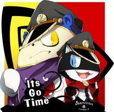Persona 5 Arena - General Teddie and General Morgana