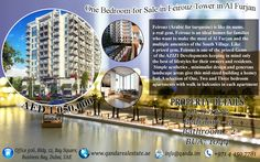 Q and A Real Estate Brokerage proudly offers an apartment with spectacular amenities and facilities. This property is located in Feirouz Tower, Al Furjan  Property Features: •1 bedroom •2 bathroom •Balcony •Public Car Parking •Super market  •Shopping Mall •Swimming pool •Gym •Fully fitted kitchen
