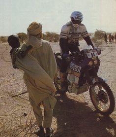 Honda NXR 780 - Paris Dakar 1986