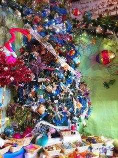 Beach theme Christmas tree #beach #beachtheme