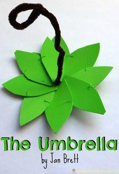 The Umbrella by Jan Brett - a craft and activity ideas