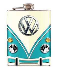 Volkswagen Classic Van Liquor Hip Flask Stainless Steel 6 oz from Rockyart on Etsy. Saved to Things I want as gifts. Vw Camper, Transporteur Volkswagen, Vw T1, Van Hippie, Hippie Life, Combi Ww, Kdf Wagen, Deco Luminaire, Vw Vintage