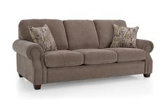2279 Casual Rolled Arm Sofa by Decor-Rest at Godby Home Furnishings Furniture Showroom, Fabric Sofa, Accent Pillows, Home And Living, Home Furnishings, Love Seat, Upholstery, Sweet Home, Rest