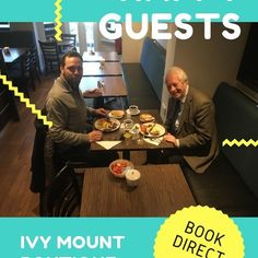 More happy customers having breakfast at the Ivy Mount Boutique