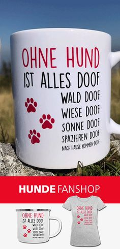 p/ohne-hund-ist-alles-doof-tasse delivers online tools that help you to stay in control of your personal information and protect your online privacy. Diy Crafts To Do, Funny Mugs, Dog Lover Gifts, Dog Lovers, Great Quotes, The Funny, About Me Blog, Things To Sell, Goofy Dog