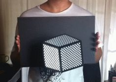 Take a look at this amazing Moving GIF Cube Illusion illusion. Browse and enjoy our huge collection of optical illusions and mind-bending images and videos. Video Humour, Mind Games, Brain Teasers, My Brain, Looks Cool, Mind Blown, Trippy, Fun Facts, The Best