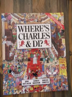 Princess+Diana+Book++Wheres+Charles+and+Di+1992+by+samastuff,+$9.00