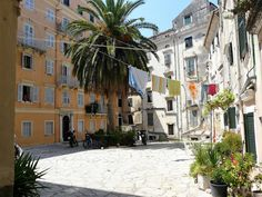Old Town of Corfu (Greece)