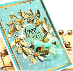 Scrap Escape - Spellbinders Card Kit of the Month - This is from Dec 2016 Kit. Each kit is brimming with dies and product for at least 10 cards. All from one great kit. #neverstopmaking #spellbinders