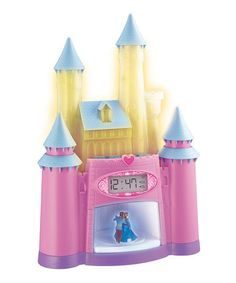 Another great find on #zulily! Cinderella's Castle Magical Storyteller Alarm Clock #zulilyfinds