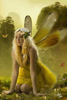 *+*Mystickal Faerie Folke*+*... By Artist Unknown...