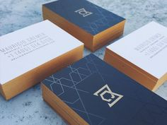 Business Cards // Branding & Identity >>  Mauricio Cremer Business Card