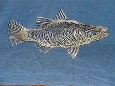 Fish - Glenn Doyle Wire Sculptor