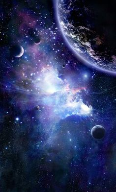 Nebula Wallpaper, Planets Wallpaper, Galaxy Wallpaper, Diamonds In The Sky, Moon Images, Space Planets, Magic Forest, Galaxy Space, Sci Fi Art