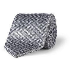 Canali Woven-Silk Tie   MR PORTER