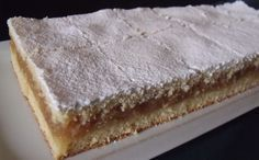 Jablká sú najčastejším ovocím, ktoré pestujeme v sadoch alebo vo svojich… Healthy Dessert Recipes, Sweets Recipes, Baking Recipes, Cookie Recipes, Healthy Diners, Eastern European Recipes, Czech Recipes, Hungarian Recipes, Fancy Cakes
