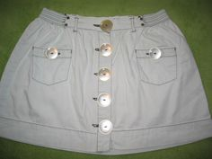 Button Skirt, Jeans Rock, Africa Fashion, Fashion Details, Designer, Casual Shorts, Buttons, Shirt Dress, Womens Fashion