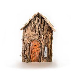 Elder House Orange Door, Fairy Houses, Bookends, Door Handles, Bird, Outdoor Decor, Home Decor, Homemade Home Decor, Decoration Home
