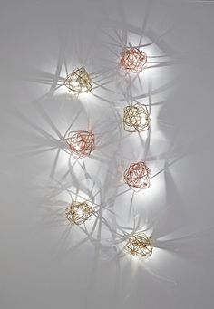 LED metal wall lamp DOODLE | Wall lamp by TERZANI