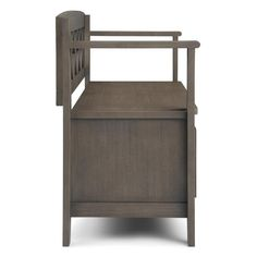 WYNDENHALL Halifax SOLID WOOD 48 inch Wide Transitional Entryway Storage Bench - 48 Inches wide - On Sale - Overstock - 7326885 Entryway Bench Storage, Bench With Storage, Storage Spaces, Traditional Benches, Storage Compartments, Take A Seat, Solid Wood, Birch Lane, Furniture