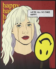 Image result for fake happy art