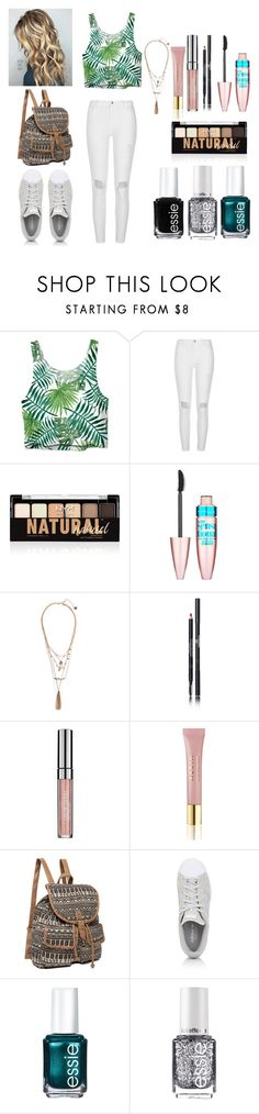 """""""Chic dress"""" by veronicakaira on Polyvore featuring River Island, NYX, Maybelline, Chanel, AERIN, adidas, Essie and chic"""