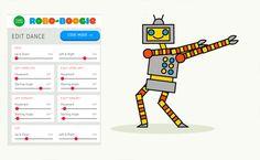 Robot dance. (see blog)