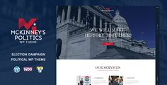 Elections Campaign / Political - WordPress Theme  -  http://themekeeper.com/item/wordpress/elections-campaign-political-wordpress-theme