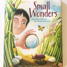 "68 Likes, 7 Comments - JEeD (@momducator) on Instagram: ""What We Are Reading Wednesday: Small Wonders by: Matthew Clark Smith // a picture book biography…"""