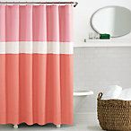 kate spade Spring Street Shower Curtain in Coral