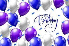 Birthday Cards, Happy Birthday, Vector Freepik, Inspiration, Happy Aniversary, Happy Birthday Cards, Colorful Birthday, Birthday Celebrations, Anniversary Cards