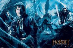 Hobbit: Pustkowie Smauga (Mirkwood) - plakat - 61x91,5 cm  Gdzie kupić? www.eplakaty.pl