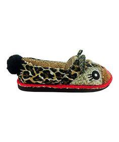 Another great find on #zulily! Tan Leolita Beastie Slip-On Shoe #zulilyfinds