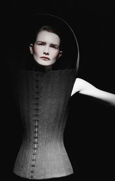Olivier Theyskens AW 1999/2000  Photography Les Cyclopes  Model Linda Byrne