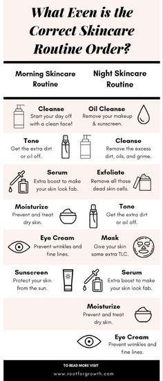 What Even is the Correct Skincare Routine Order? Infographic - - What Even is the Correct Skincare Routine Order? Infographic Self-Care What Even is the Correct Skincare Routine Order? Oily Skin Care, Healthy Skin Care, Face Skin Care, Skin Care Tips, Healthy Hair, Sensitive Skin Care, Beauty Tips For Glowing Skin, Clear Skin Tips, Beauty Skin