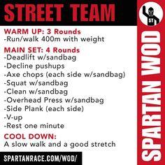 "Spartan - Team ""Street"""